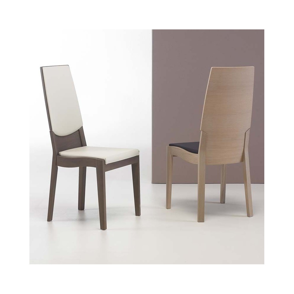 Chaise bois contemporaine coin Chaises contemporaine