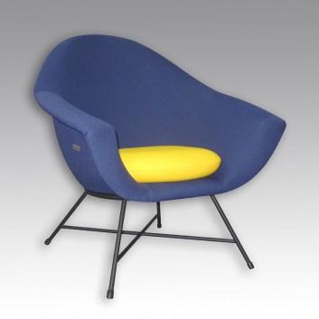 fauteuil d 39 argentat tissu coin. Black Bedroom Furniture Sets. Home Design Ideas