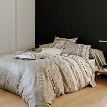 parure de lit en satin de coton coin. Black Bedroom Furniture Sets. Home Design Ideas