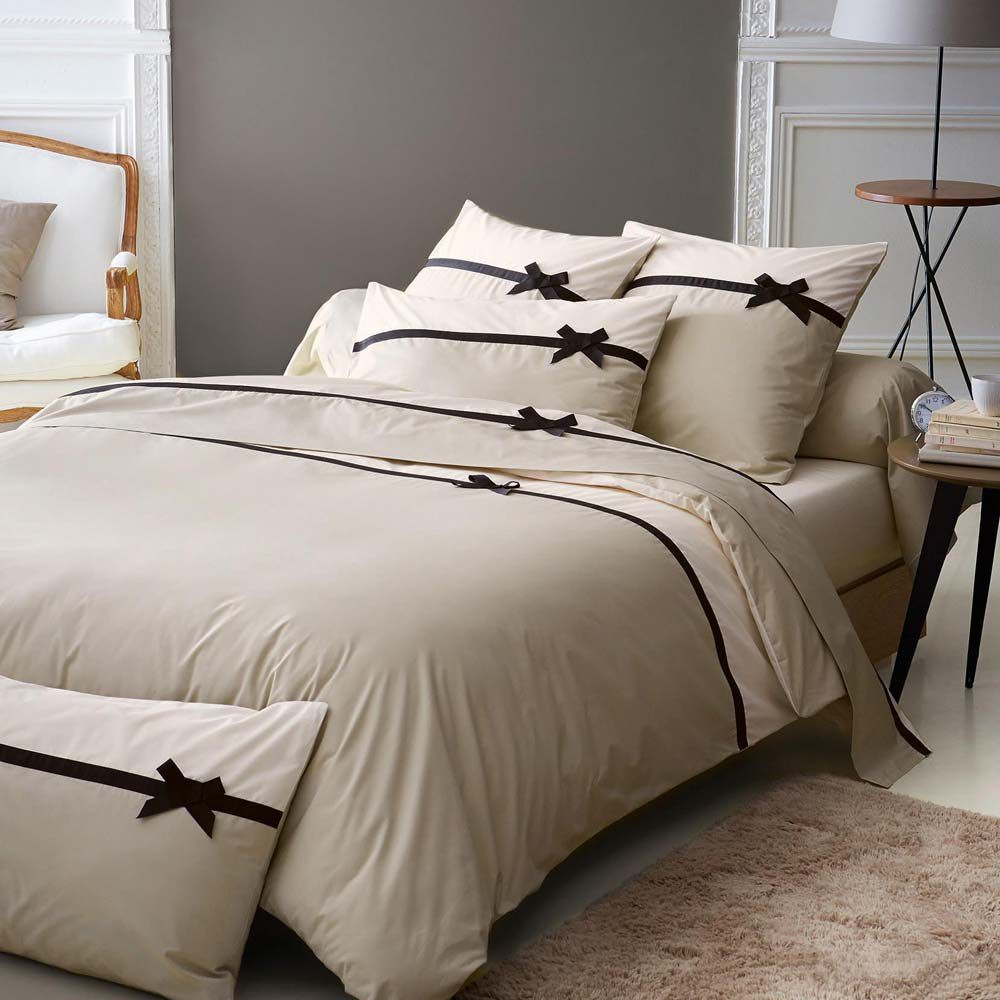 parure en percale housse couette coin. Black Bedroom Furniture Sets. Home Design Ideas