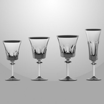 royale de champagne verre en cristal design coin. Black Bedroom Furniture Sets. Home Design Ideas