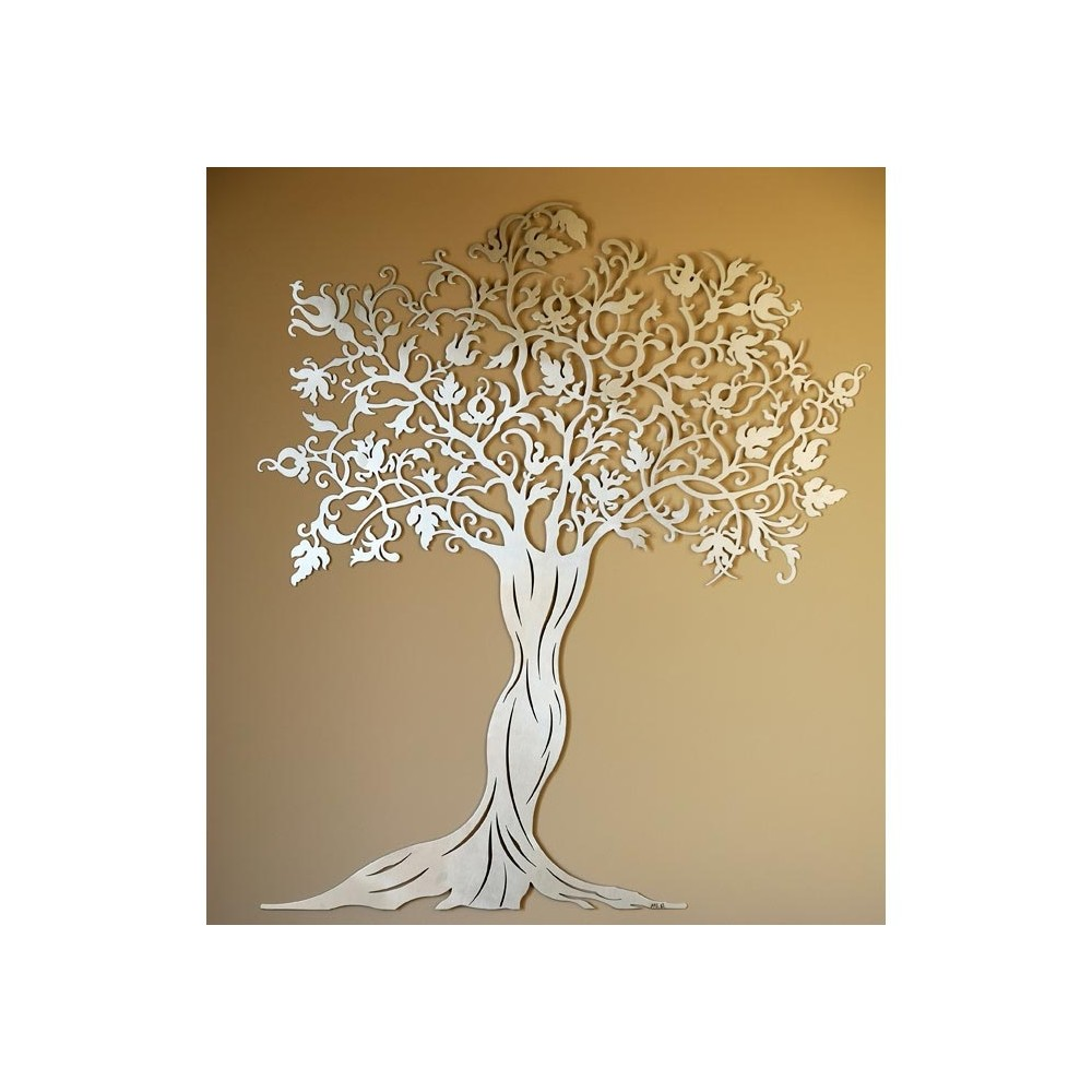 Arbre art deco coin for Decoration murale arbre de vie