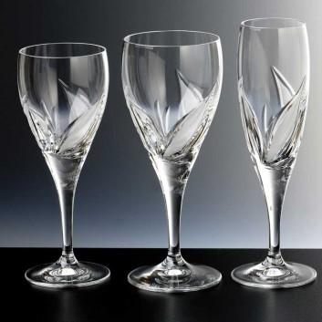 Verres en cristal bayel coin - Verres anciens en cristal ...