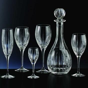verre cristal design art deco made in france coin. Black Bedroom Furniture Sets. Home Design Ideas