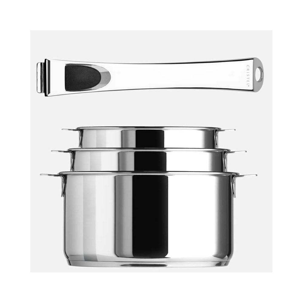 Batterie cristel casteline coin - Batterie de cuisine cristel ...