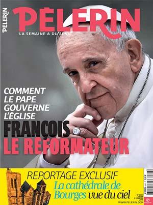 couverture magazine le pélerin