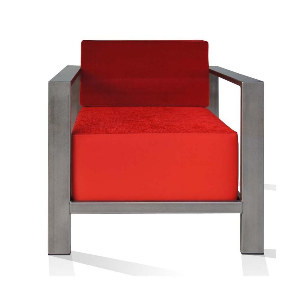 fauteuil metal. Black Bedroom Furniture Sets. Home Design Ideas