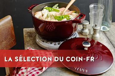 Sélection du coin : cocotte staub le coq français grenadine