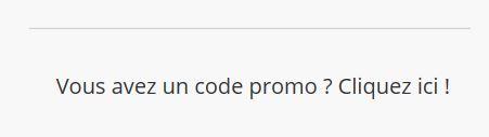 code promotion cliquez ici
