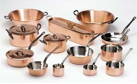 ustensiles de cuisine cuivre Bamalu