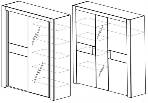 armoire moka