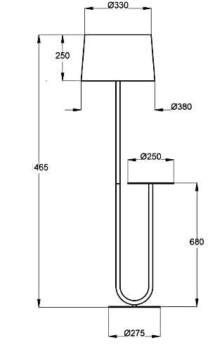 dimensions duo aluminor