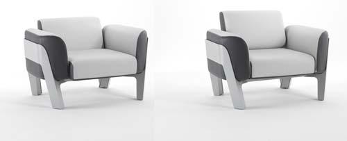 fauteuil d'exterieur