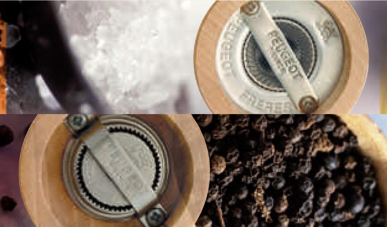 mécanisme moulin à poivre et à sel peugeot