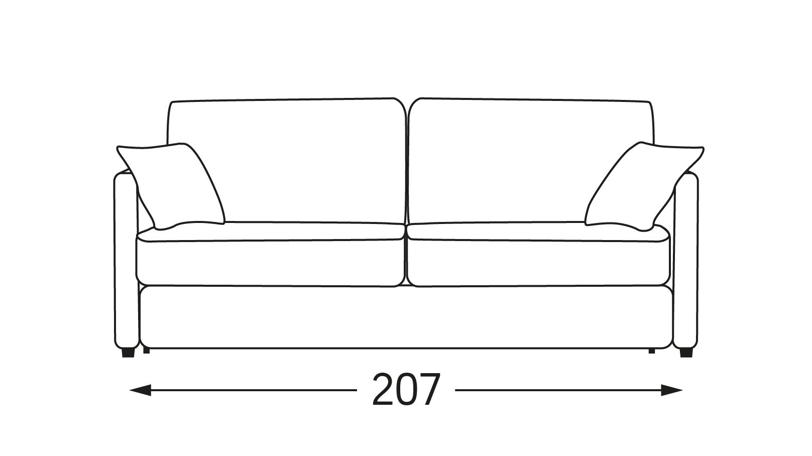 canape convertible montana 207 moulins