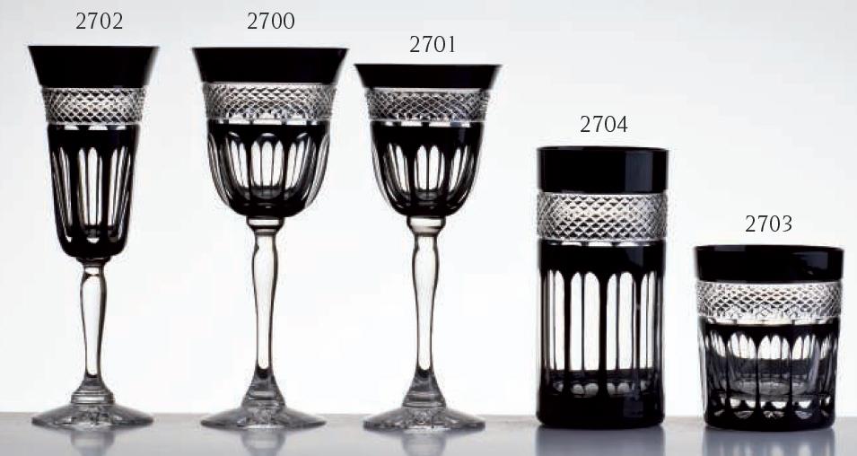verres pénombre cristal de paris