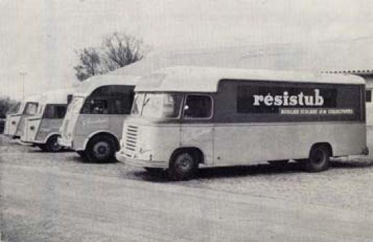 Resistub en  1953