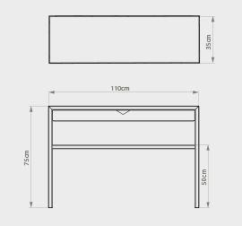 console design avec lampe flos
